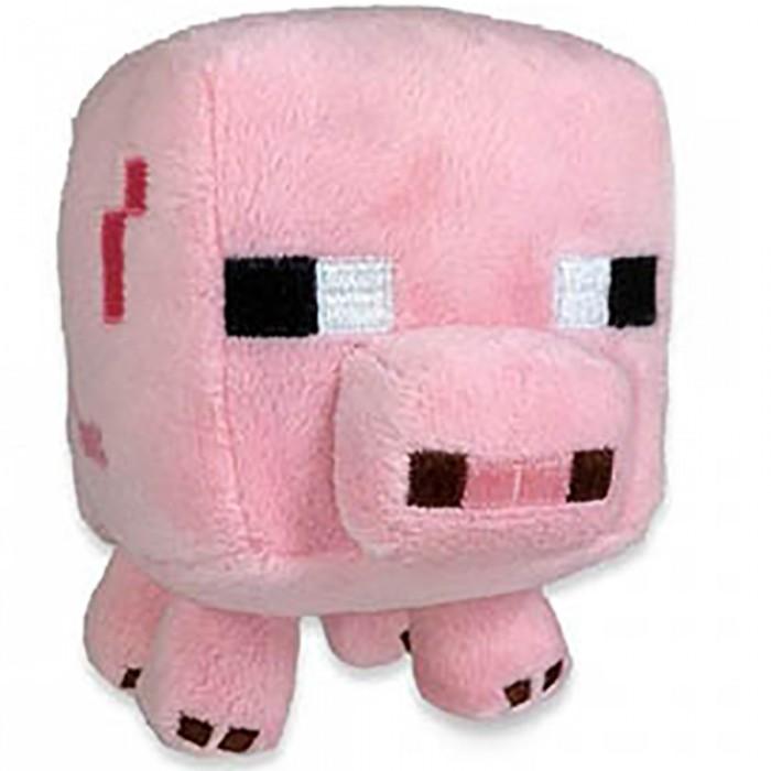 Мягкая игрушка Minecraft Baby pig Поросенок 18 см