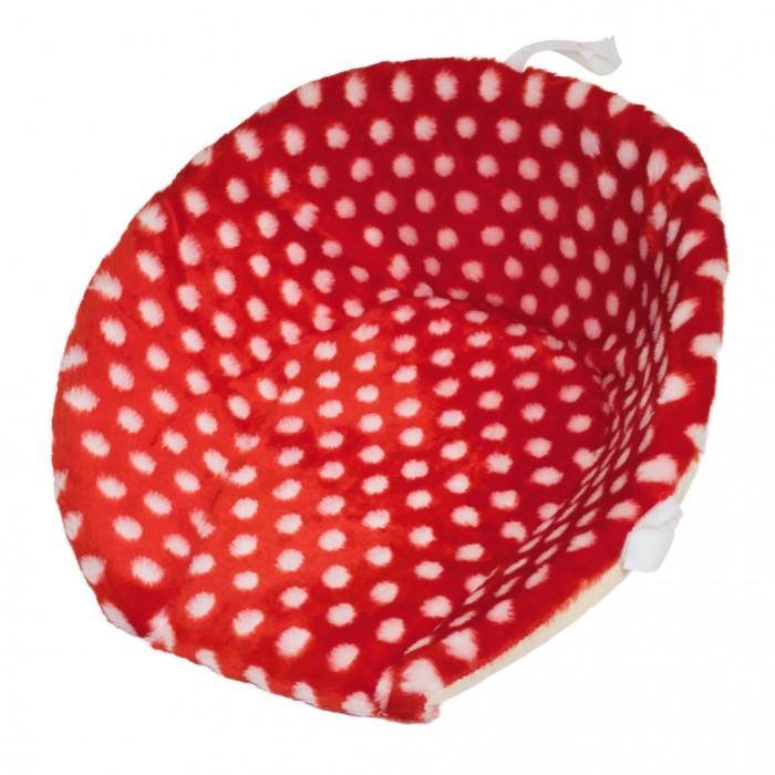 Купить R-Toys Матрасик для санок меховой Мухомор короткий в интернет магазине. Цены, фото, описания, характеристики, отзывы, обзоры