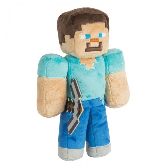 Мягкие игрушки Minecraft Steve 30 см