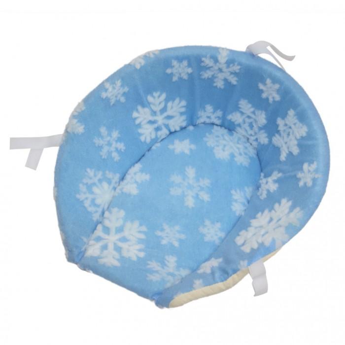 Купить R-Toys Матрасик для санок меховой Снежинка короткий в интернет магазине. Цены, фото, описания, характеристики, отзывы, обзоры