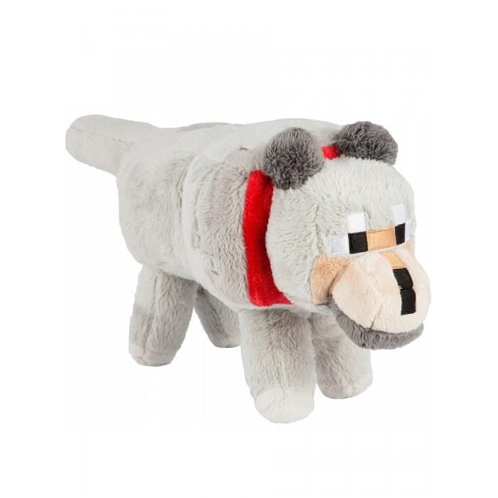 Мягкая игрушка Minecraft Wolf 25 см