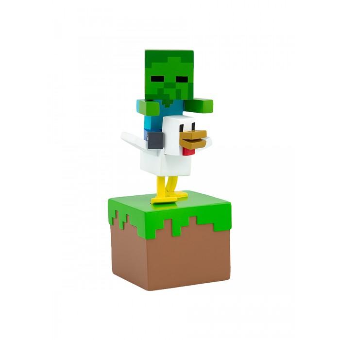 Игровые фигурки Minecraft Фигурка Adventure Figures серия 3 Zombie Chicken Jockey 10 см