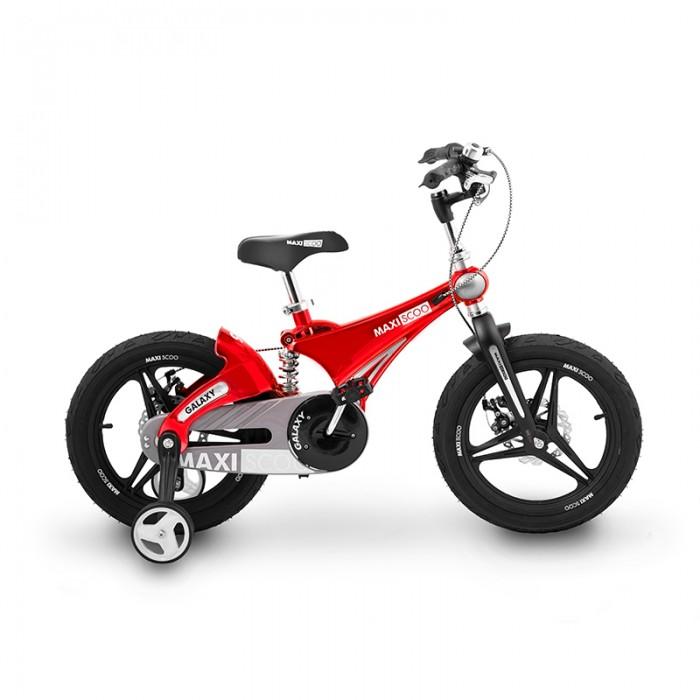 Купить Велосипед двухколесный Maxiscoo Galaxy 16 Делюкс в интернет магазине. Цены, фото, описания, характеристики, отзывы, обзоры