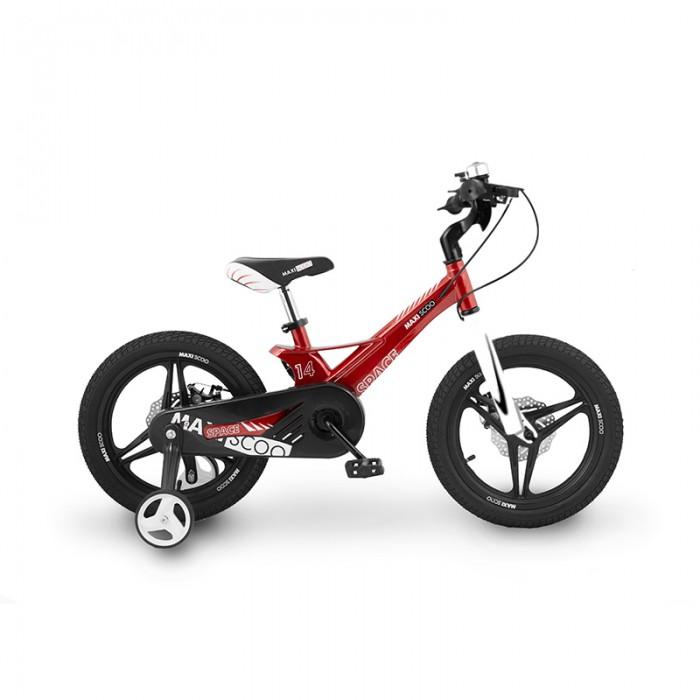Купить Велосипед двухколесный Maxiscoo Space 14 Делюкс в интернет магазине. Цены, фото, описания, характеристики, отзывы, обзоры