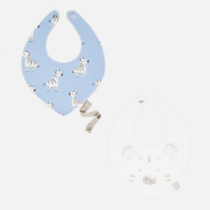 Купить Нагрудник Mayoral Комплект слюнявчиков New Born Зебра 2 шт. 9670 в интернет магазине. Цены, фото, описания, характеристики, отзывы, обзоры