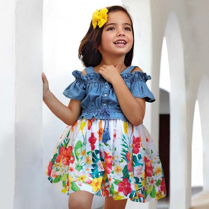 Купить Mayoral Платье для девочки 3956 в интернет магазине. Цены, фото, описания, характеристики, отзывы, обзоры