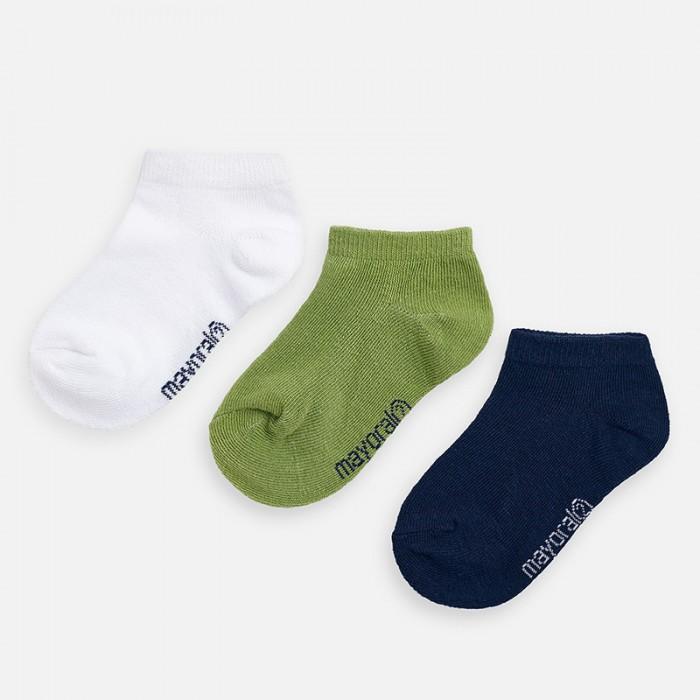 Купить Mayoral Носки для мальчика 3 пары 10784 в интернет магазине. Цены, фото, описания, характеристики, отзывы, обзоры