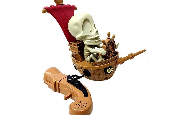 Интерактивная игрушка Fotorama Тир проекционный Джонни Пират с 1 бластером