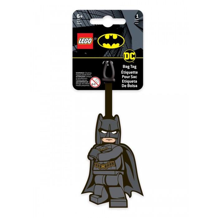 Детские чемоданы Lego Super Heroes Бирка для багажа Batman