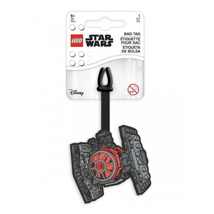 Детские чемоданы Lego Star Wars Бирка для багажа Tie Fighter