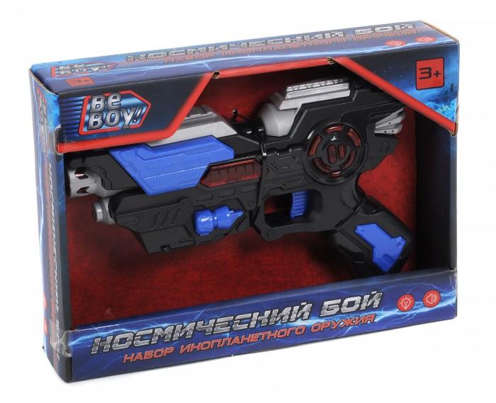 Игрушечное оружие BeBoy Бластер Космический бой со световыми и звуковыми эффектами IT104229 игрушечное оружие beboy космический бой бластер меч аксессуары
