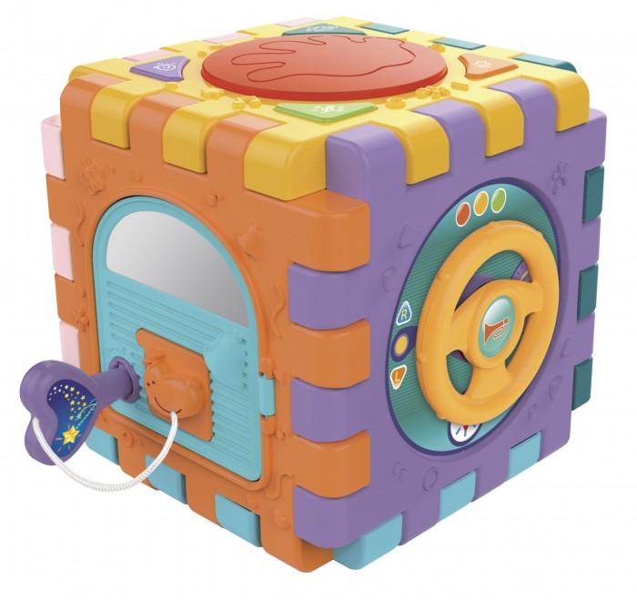 Сортер Elefantino Куб логический на батарейках