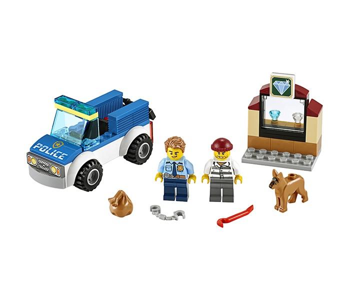 Купить Конструктор Lego City 60241 Лего Город Полицейский отряд с собакой