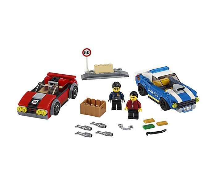 Lego City 60242 Лего Город Арест на шоссе
