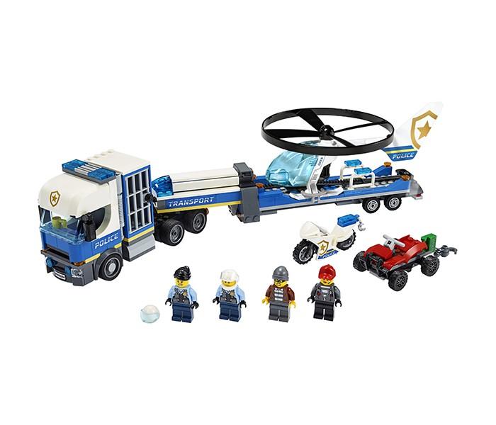 Купить Конструктор Lego City 60244 Лего Город Полицейский вертолётный транспорт