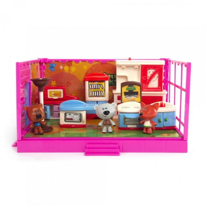 Ми-ми-мишки Игровой набор Кеша, Тучка и Лисичка Кухня (12 деталей интерьера) фото