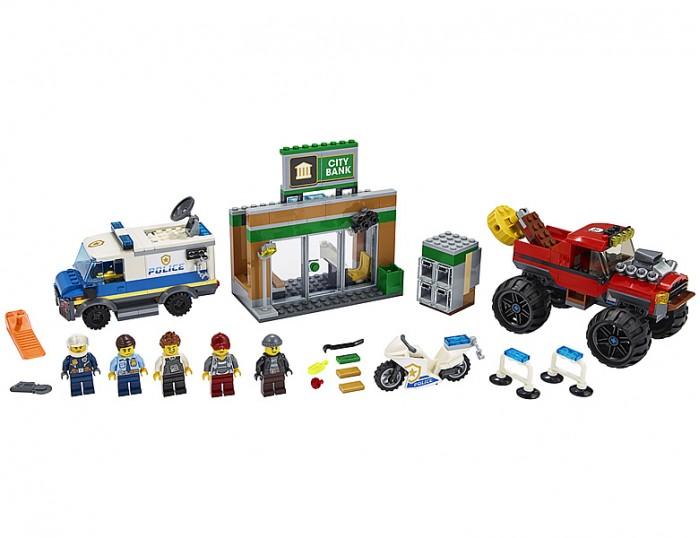 Конструктор Lego City 60245 Лего Город Ограбление полицейского монстр-трака