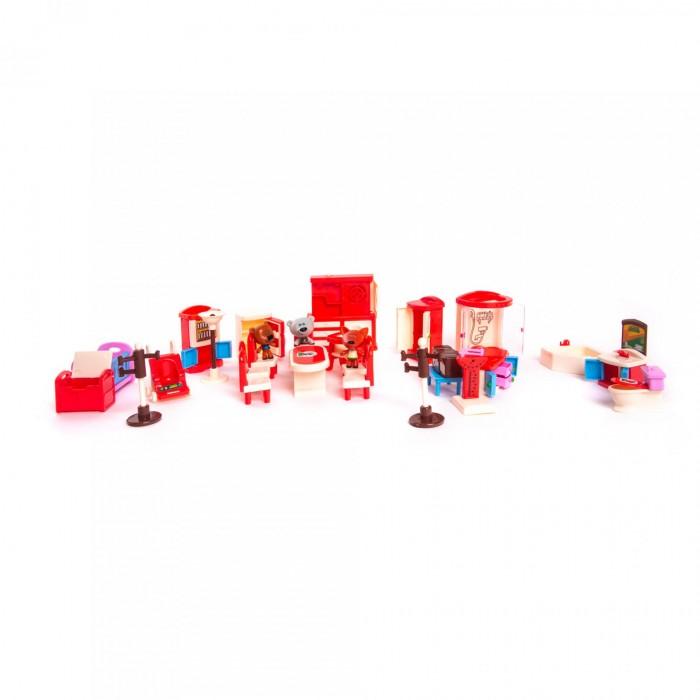 Ми-ми-мишки Игровой набор Кеша, Тучка и Лисичка 32 детали интерьера фото