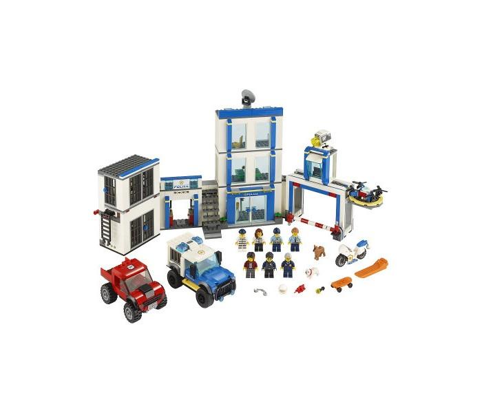 Купить Конструктор Lego City 60246 Лего Город Полицейский участок