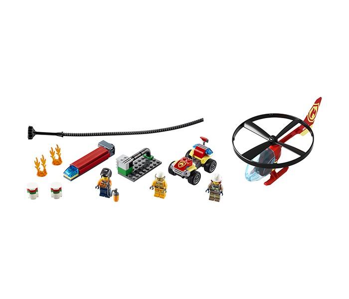 Конструктор Lego City 60248 Лего Город Пожарный спасательный вертолёт