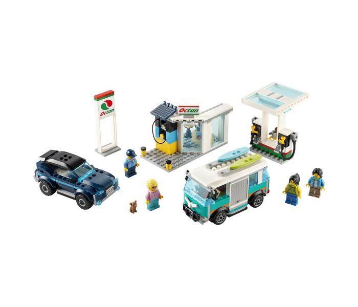 Купить Конструктор Lego City 60257 Лего Город Станция технического обслуживания