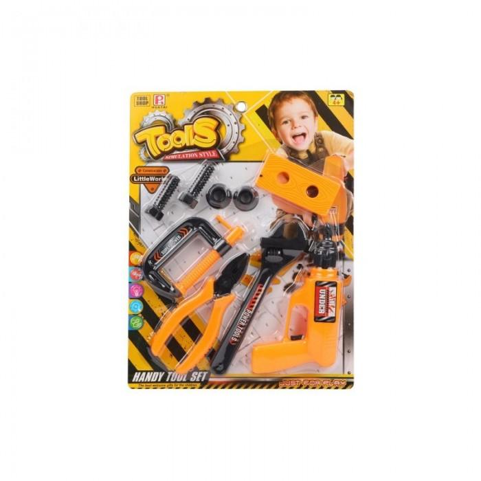 Ролевые игры Наша Игрушка Набор инструментов (9 предметов) 195A набор wester тепловая пушка tg 35000 набор инструментов 601 035 9 предметов