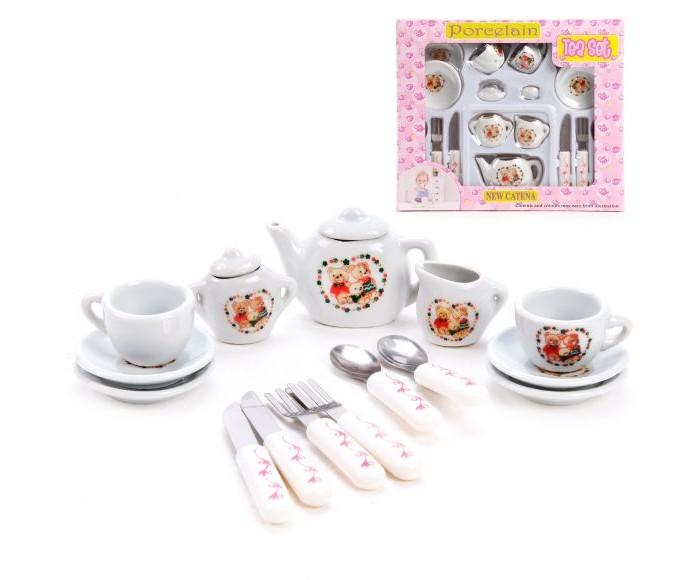 Купить Наша Игрушка Набор посуды Медвежата (17 предметов) в интернет магазине. Цены, фото, описания, характеристики, отзывы, обзоры