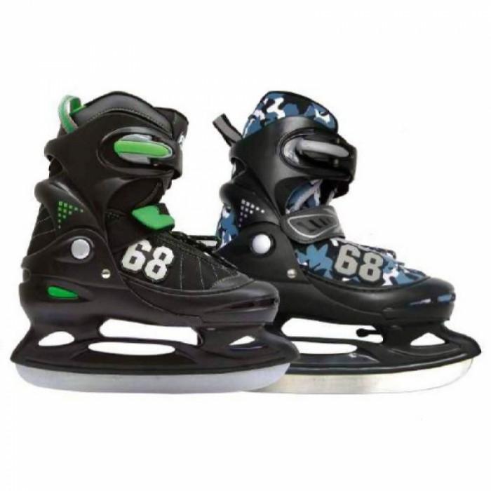 ледовые коньки и лыжи Ледовые коньки и лыжи Action Коньки ледовые раздвижные PW-211C