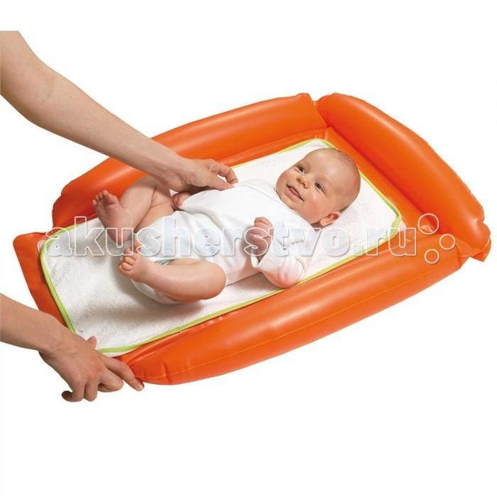 Babymoov Накладка для пеленания надувная 70x90Накладка для пеленания надувная 70x90Babymoov Накладка для пеленания надувная 70х90  Накладка для пеленания предназначена для детей с рождения. Удобна для пеленания и переодевания ребенка, для гигиенических процедур, воздушных ванн, подготовки к купанию и массажа.  Надувной матрас для пеленания вы всегда сможете взять с собой в поездку или в гости.   Размер 70x90 см.<br>