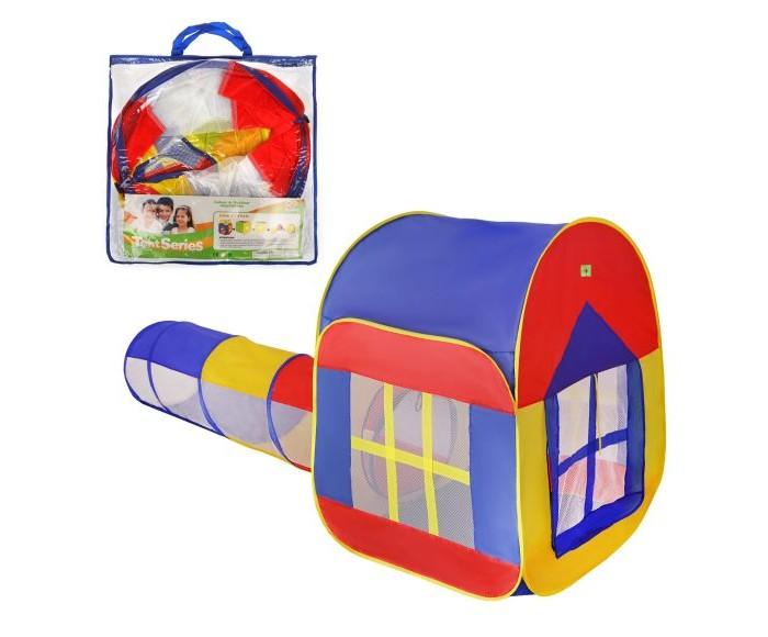 Картинка для Палатки-домики Наша Игрушка Палатка игровая Домик с туннелем 188х88х110 см