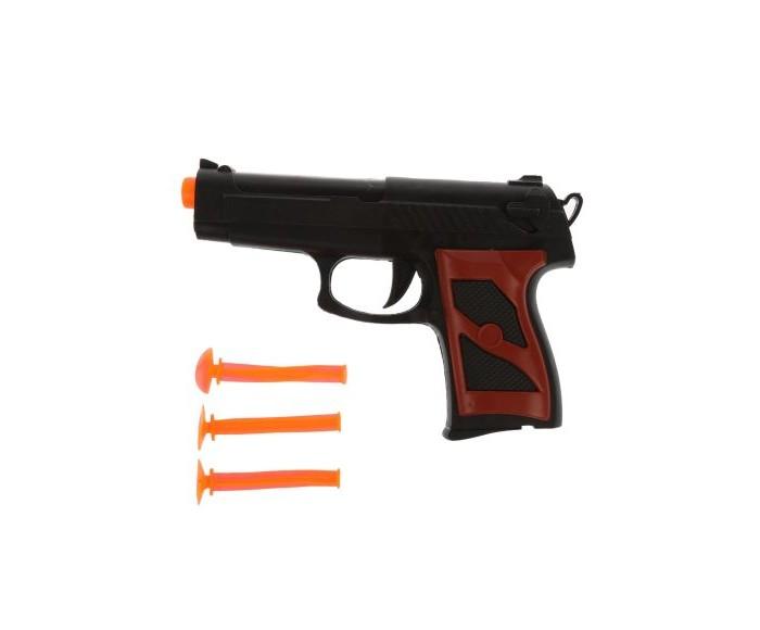 Купить Наша Игрушка Пистолет со стрелами-присосками 3 шт. в интернет магазине. Цены, фото, описания, характеристики, отзывы, обзоры