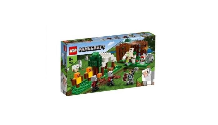Конструктор Lego Minecraft Аванпост разбойников