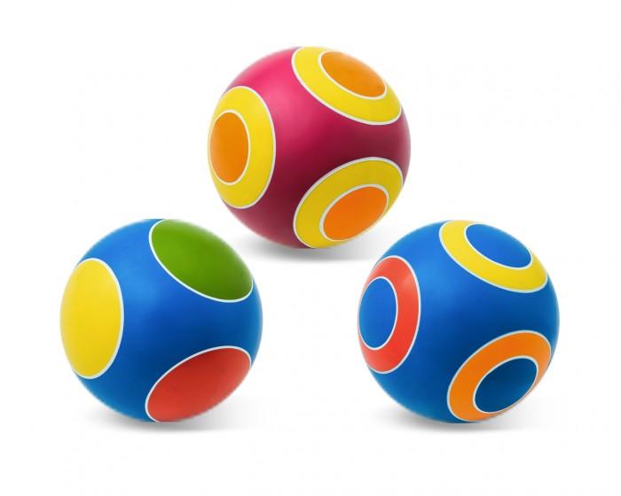 Мячики и прыгуны Чапаев Мяч Кружочки 150 мм мячики и прыгуны чапаев мяч серия классика 75 мм