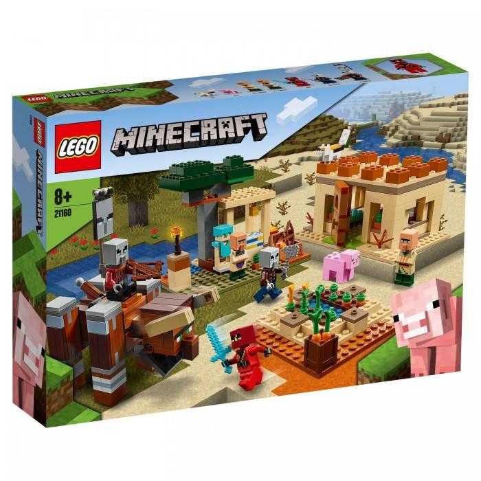 Конструктор Lego Minecraft Патруль разбойников