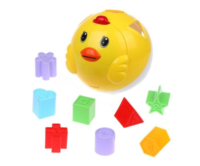 Купить Развивающие игрушки, Развивающая игрушка Наша Игрушка Цыпленок-сортер Бамбини