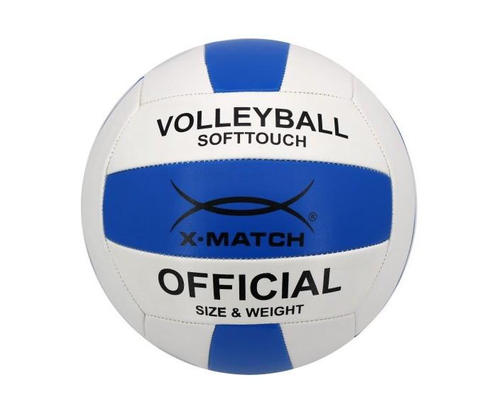 Мячи X-Match Мяч волейбольный 1,6 PVC 56471 мячи x match мяч футбольный 1 слой pvc 56465