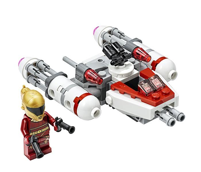 Lego Lego Star Wars 75263 Лего Звездные Войны Микрофайтеры: Истребитель Сопротивления типа Y lego star wars 75249 конструктор лего звездные войны звёздный истребитель повстанцев типа y