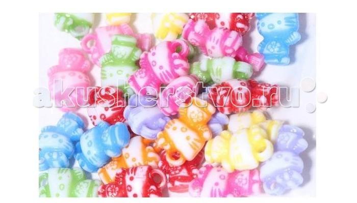 Наборы для творчества Molly Подвески для плетения браслетов Кошки 30 шт. для плетения браслетов