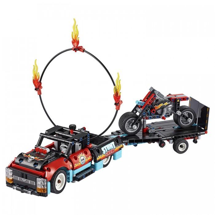 Купить Конструктор Lego Technic 42106 Лего Техник Шоу трюков на грузовиках и мотоциклах
