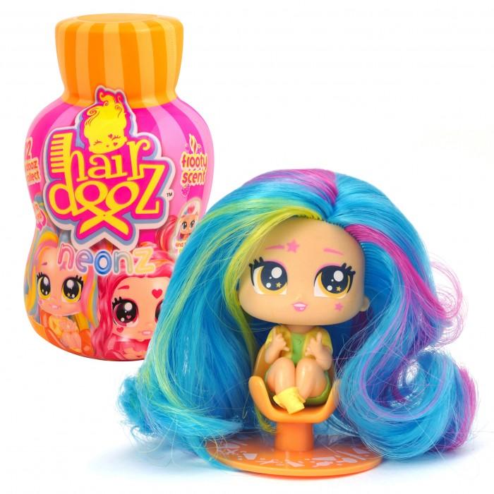 Купить Куклы и одежда для кукол, Hairdooz Игровой набор Куколка Неон в парикмахерской с аксессуарами