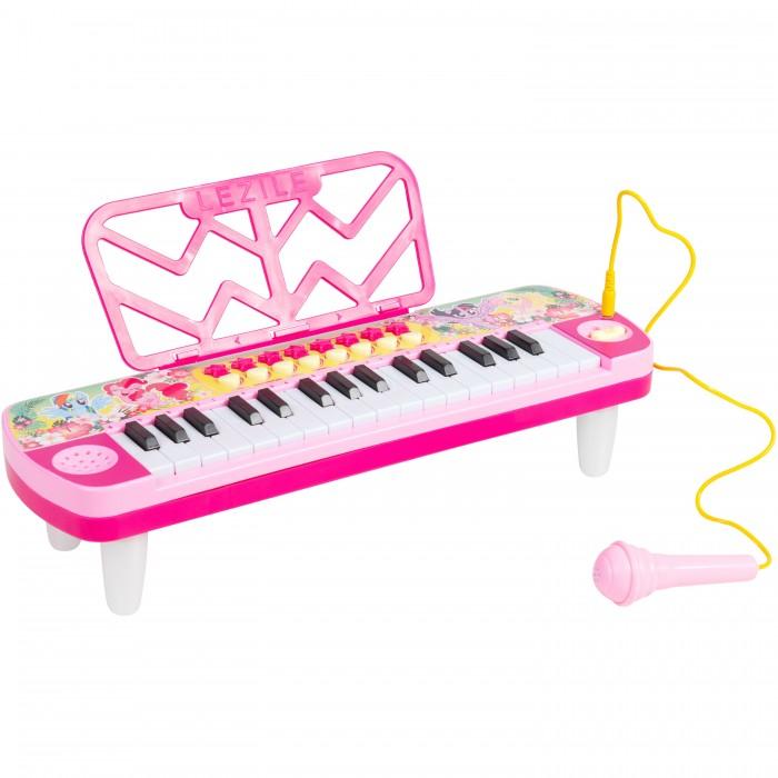 Музыкальный инструмент Май Литл Пони (My Little Pony) Игрушечный синтезатор c микрофоном