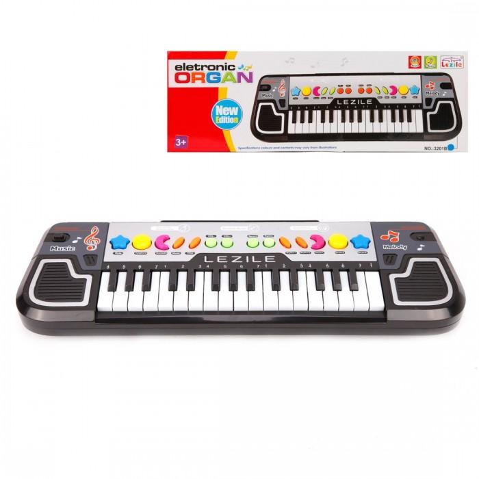 Музыкальные инструменты Наша Игрушка Синтезатор Lezile 32 клавиши музыкальные инструменты наша игрушка микрофон е нотка