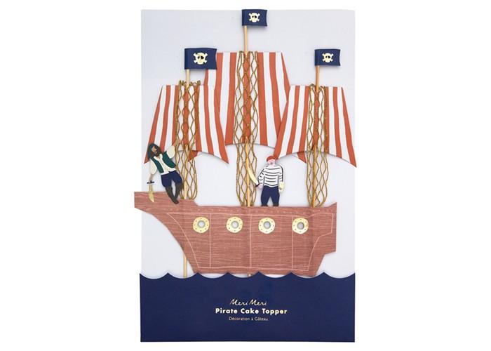 Товары для праздника MeriMeri Топперы для торта Пираты