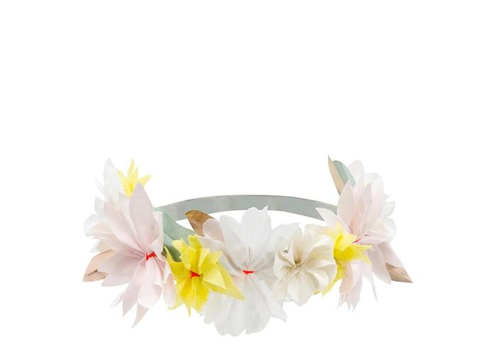 аксессуар для карнавала ободок зайки Товары для праздника MeriMeri Ободок с желтыми цветами