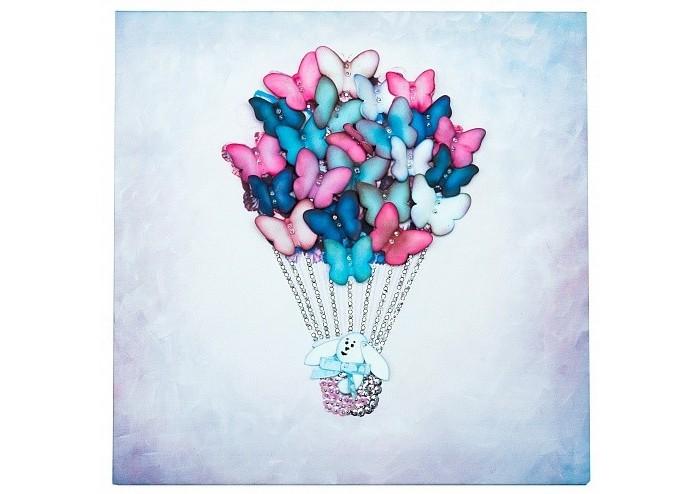 Купить Картины своими руками, Волшебная мастерская Мозаика из пайеток на холсте Воздушный шар