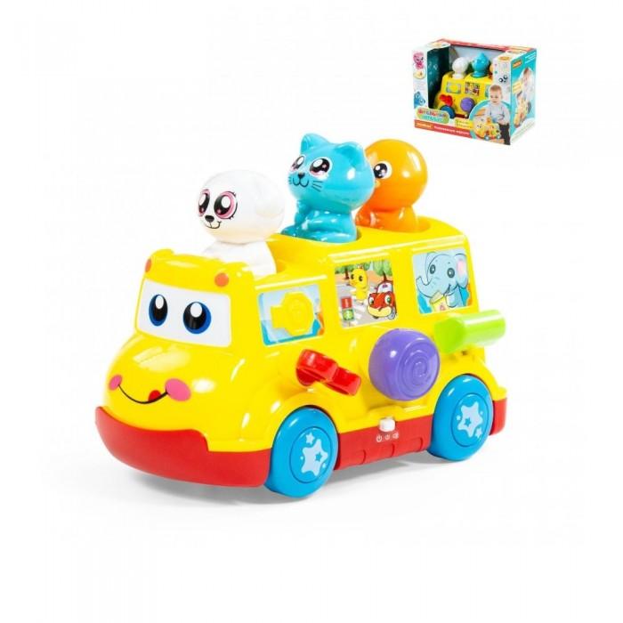 Развивающие игрушки Полесье Школьный автобус