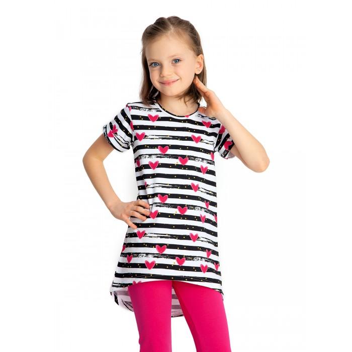 Купить Веселый малыш Туника с коротким рукавом для девочки Полоска в интернет магазине. Цены, фото, описания, характеристики, отзывы, обзоры