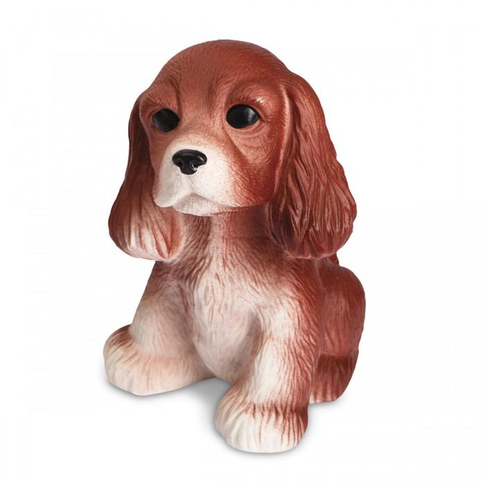 Купить Огонек Резиновая игрушка Щенок спаниеля 13 см в интернет магазине. Цены, фото, описания, характеристики, отзывы, обзоры