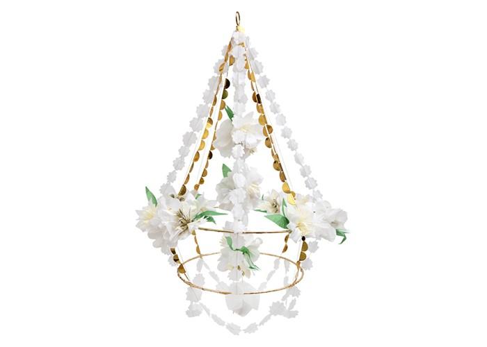Купить MeriMeri Подвеска Белый цветок в интернет магазине. Цены, фото, описания, характеристики, отзывы, обзоры