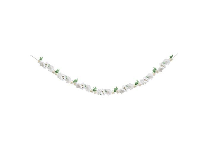 Фото - Товары для праздника MeriMeri Гирлянда Белый цветок товары для праздника merimeri гирлянда кисточки